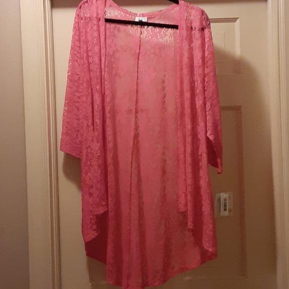 Lace cardigan/kimono
